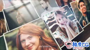 AE模板 生日假期照片3D马赛克画廊展示 Mosaic Photo Reveal