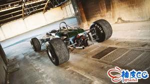 C4D / Blender布拉汉姆赛车的3D模型