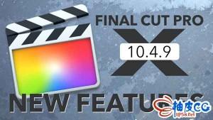 视频编辑器Final Cut Pro 10.4.9 / 10.4.10 macOS