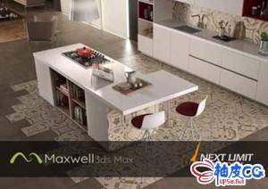 物理渲染器NextLimit Maxwell Render v5.1.0 for 3DS MAX 2011 ~ 2021
