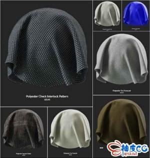 30组Substance Source布料材质Substance Source – Project #15 – 30 SBSAR Fabrics