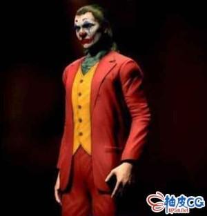 小丑PBR角色的3Dmax模型