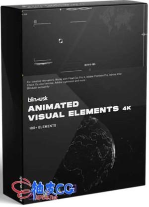 未来派科幻HUD动画视觉元素屏幕组件4K高清素材集