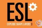AE形状层合并分离管理脚本 Explode Shape Layers v3.5.1 + 视频教程