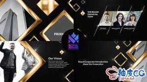 AE模板 豪华皇家商业宣传视频介绍 Royal Corporate Presentation