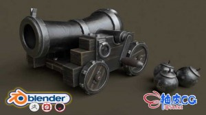Blender创建程序化3D游戏模型技能完整培训视频教程