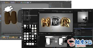 HDR Light Studio与Cinema 4D R19 ~ S22桥接插件 HDR Light Studio with Cinema 4D Connection