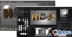 HDR Light Studio与Cinema 4D R19 ~ S22桥接插件 HDR Light Studio with Cinema 4D Connection