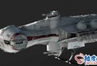 星球大战太空船精细3D模型