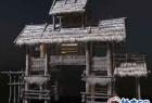 3DSMAX游戏风格村口牌坊3D模型