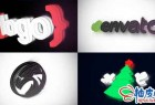 AE模板 商业公司质感背景3D标识LOGO揭示Logo Reflection - Logo Reveal