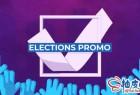 AE模板 民意测试公投投票动画片宣传Election Promo