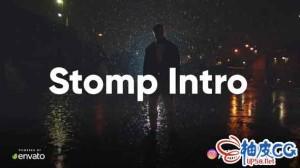 AE模板 简洁快速INSTAGRAM故事预告片标题版式片头 Clean Stomp Opener