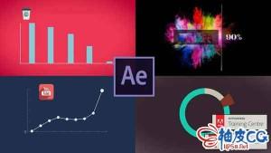 AE运动图形及数据可视化技能视频教程