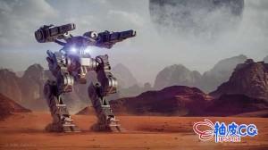 Blender科幻机器人高级硬表面建模技术流程实用教程