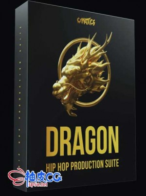 Cymatics Dragon嘻哈旋律WAV无损音效素材包