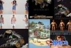 2020年影视游戏游戏人物装备武器3D模型合集