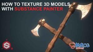 Substance Painter制作3D模型纹理贴图视频教程