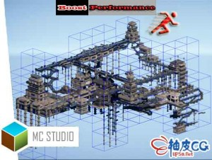 Unity基于单元的自动网格合成器 Mesh Combine Studio 2 v2.985 /  2 v2.993
