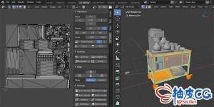 Blender影视游戏快速高品质展UV插件uv toolkit 2.0.6 + 视频教程