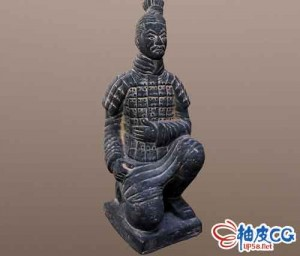 3DSMAX秦朝兵马俑3D模型