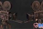 3DSMAX老式复古Cine Camera Vintage 3D模型