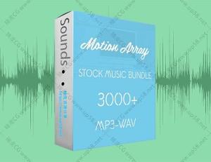 AE模板影视预告片片头配乐合辑Motionarray音乐音效素材库(3210首)