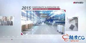 AE模板 企业文化介绍宣传动态图片视频 CORPORATE PROMO - PHOTO SLIDESHOW