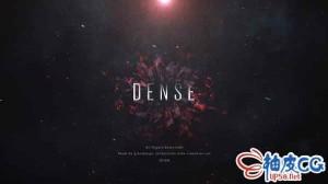 AE模板 史诗级电影粒子飞舞预告片片头视频 Dense Trailer Titles