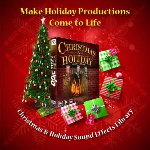 圣诞节老人雪橇飞跃铃铛魔术火壁炉玩具快移 视频游戏WAV音效素材(配中文名称参考)