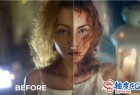 Photoshop人物照片修饰合成颜色分级策略PS视频教程