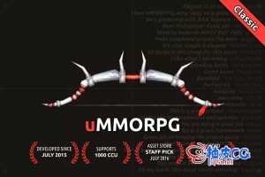 Unity构建大规模多人在线角色游戏方案 uMMORPG 1.193