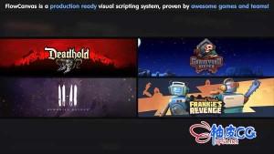 Unity 3D游戏开发视觉脚本插件FlowCanvas 3.1.6