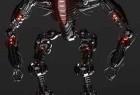 C4D机器机甲战士3D模型