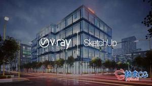 渲染器插件V-Ray 5.00.03 / V-Ray 5.10.03 / V-Ray 5.10.05 for SketchUp 2017-2021 x64 替换破解版
