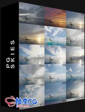20个天空16K超高清HDR动态范围环境贴图