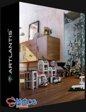 3D建筑可视化渲染器Artlantis 2021 v9.5.2.24851 / 2021 v9.5.2.25095 / 2021 v9.5.2.26606 / 2021 v9.5.2.28201多语言x64 WIN / MAC