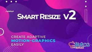 AE脚本 - 运动图形尺寸自适应插件 Smart Resize 2 + 视频教程