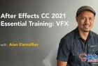 After Effects CC 2021视觉特效基本入门培训视频教程