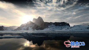 GAEA和HOUDINI创建程序化悬崖岩石地形自然环境视频教程