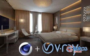 Vray渲染器Vray Adv 5.00.42 / V-Ray 5.00.43 For C4D R20 ~ R23 Win替换破解版