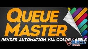 强大的渲染队列自动化AE脚本QueueMaster1.13
