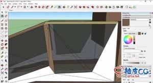 草绘大师SketchUp三维建模入门视频教程