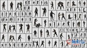 179张欧洲古代装甲骑士高清图片设计素材