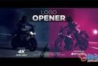 AE模板 时尚预告片快速徽标展示片头Fast Logo Opener