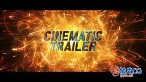 AE模板 电影战争紧张行动宣传片头 Cinematic Trailer