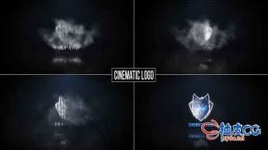 AE模板 电影级史诗黑暗云徽标揭示视频 Cinematic logo reveal