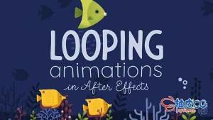 Adobe After Effects循环动画制作视频教程