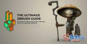 ZBrush数字雕刻模型终极指南视频教程
