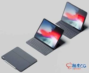 3DSMAX键盘iPad Pro 2018平板电脑3D模型